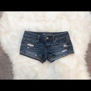 American eagle sz 4 jean shorts